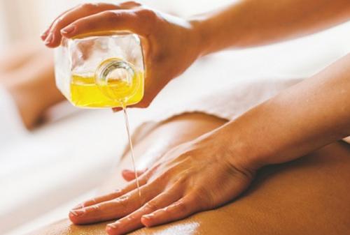 SOGREEN olio corpo agli estratti di bambù biologico e profumato alla lavanda per massaggi e relax